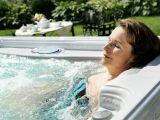 Le spa avec aquabike intégré