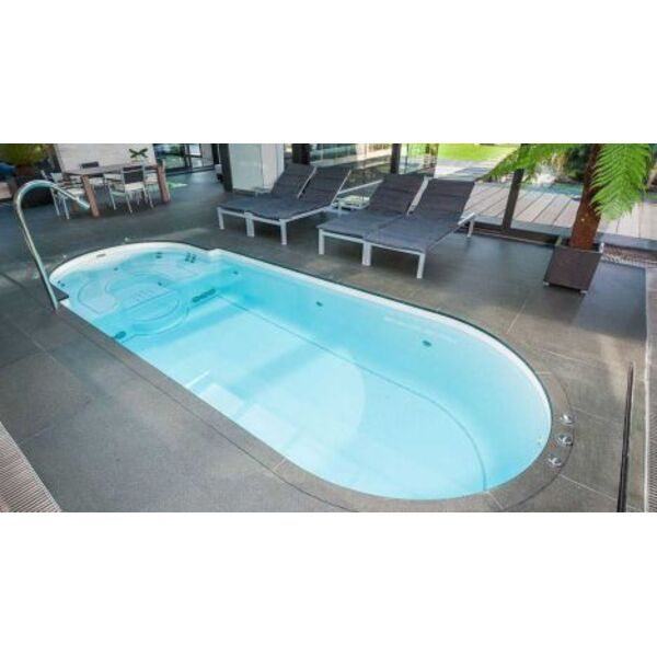le spa de nage encastrable nager domicile. Black Bedroom Furniture Sets. Home Design Ideas