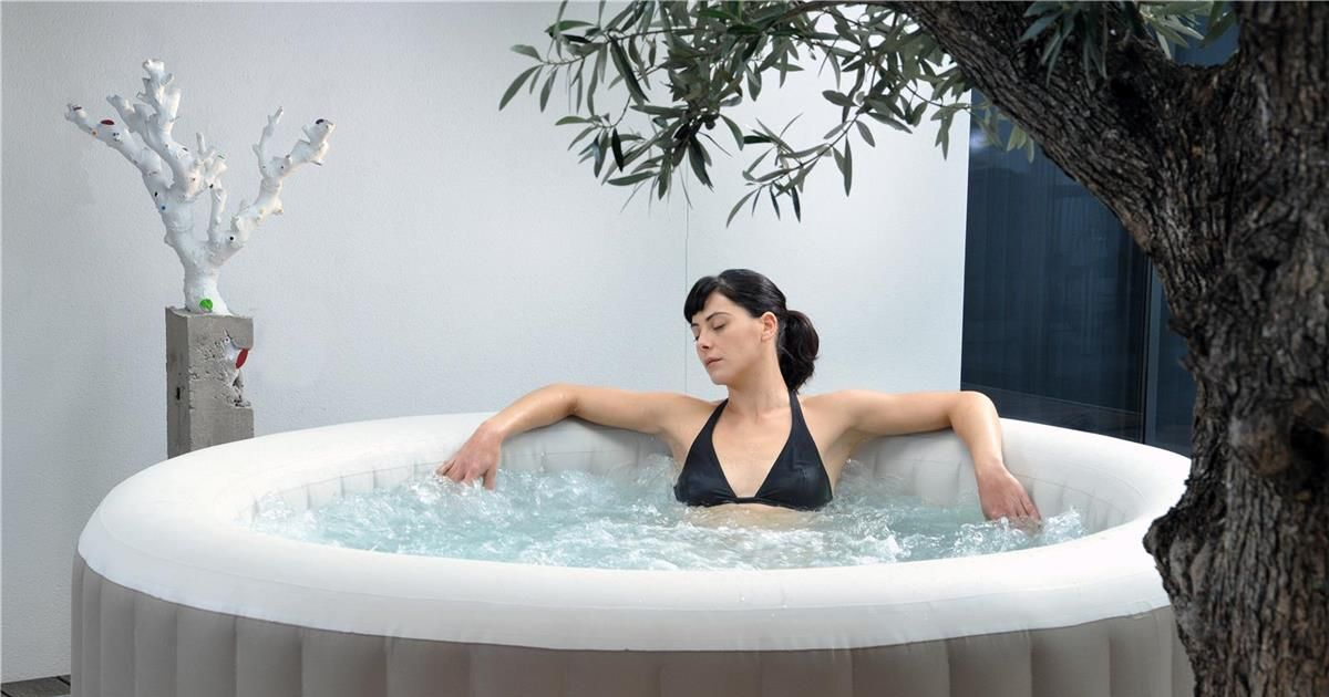 Spa gonflable en int rieur for Spa gonflable interieur