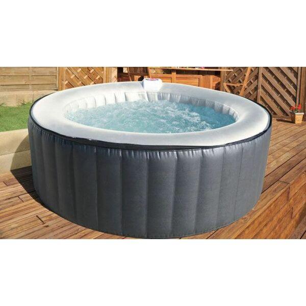 jacuzzi gonflable pas cher schwimmbad und saunen. Black Bedroom Furniture Sets. Home Design Ideas