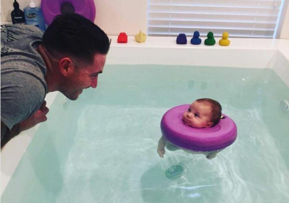 Un spa pour les bébés de 0 à 6 mois ? Découvrez le Baby Spa Berth, en Australie.© Baby Spa Berth - via Instagram