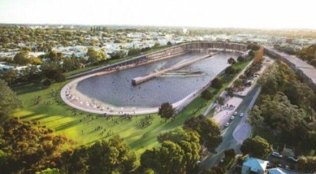 Un stade de foot transformé en piscine à vagues géante !