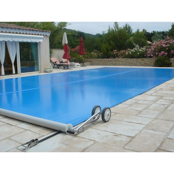 La couverture barre hybride for Bache a barre piscine