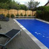 Article abris et couvertures de piscine b ches filets for Bache piscine sur mesure