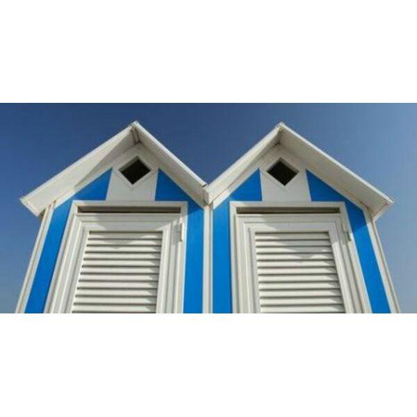 fabriquer une cabine de plage. Black Bedroom Furniture Sets. Home Design Ideas