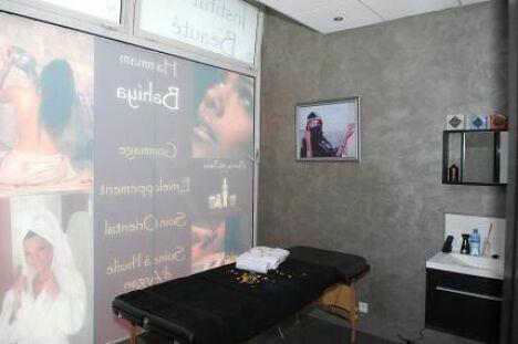 """Une cabine de soins au spa Bahiya à Elancourt<span class=""""normal italic petit"""">DR</span>"""