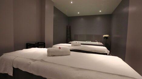"""Une cabine de soins au spa Le Patio à Allonne<span class=""""normal italic petit"""">DR</span>"""