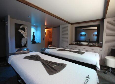 """Une cabine de soins double au Cotton'Spa à Etiolles<span class=""""normal italic petit"""">DR</span>"""