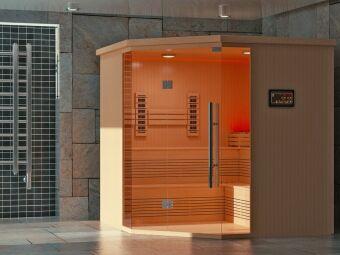 Une cabine sauna infrarouge : le sauna rapidement et simplement à domicile