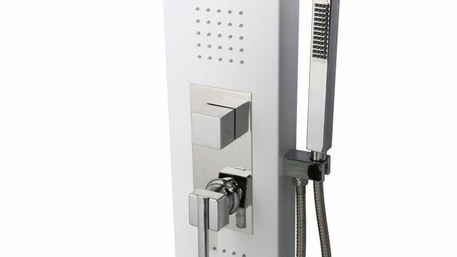 La colonne de douche hydromassante est un moyen économique de profiter d'un bon massage par l'eau à domicile.