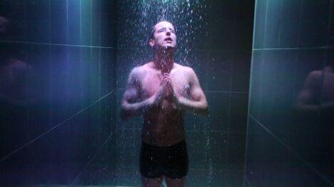 """Une douche au spa Le Patio à Allonne<span class=""""normal italic petit"""">DR</span>"""