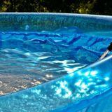 Une fuite sur une piscine hors-sol
