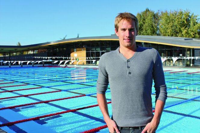 """Une leçon de natation avec le champion d'Europe Sébastien Rouault<span class=""""normal italic petit"""">© Sandrine Bavard</span>"""
