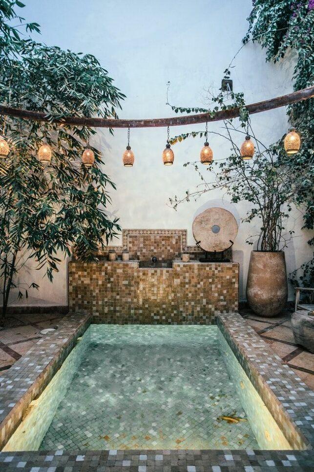 Une mini-piscine enterrée : petite et pratique