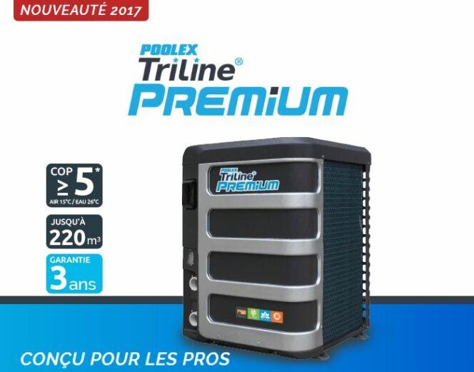 Une nouvelle gamme de pompes à chaleur chez Poolstar : Poolex Triline Premium