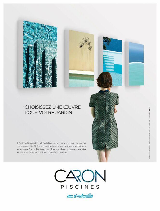 """Une nouvelle identité de marque pour Caron Piscines<span class=""""normal italic petit"""">© Caron Piscines</span>"""