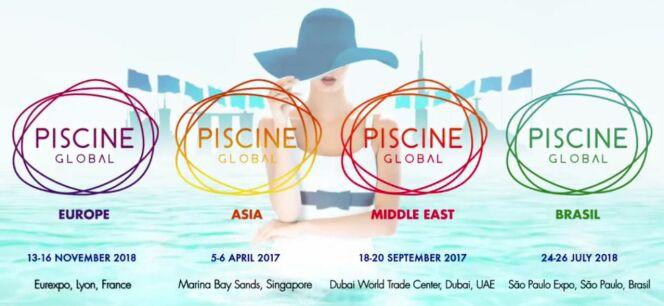 """Une nouvelle identité visuelle pour le réseau Piscine Global<span class=""""normal italic petit"""">© Piscine Global</span>"""