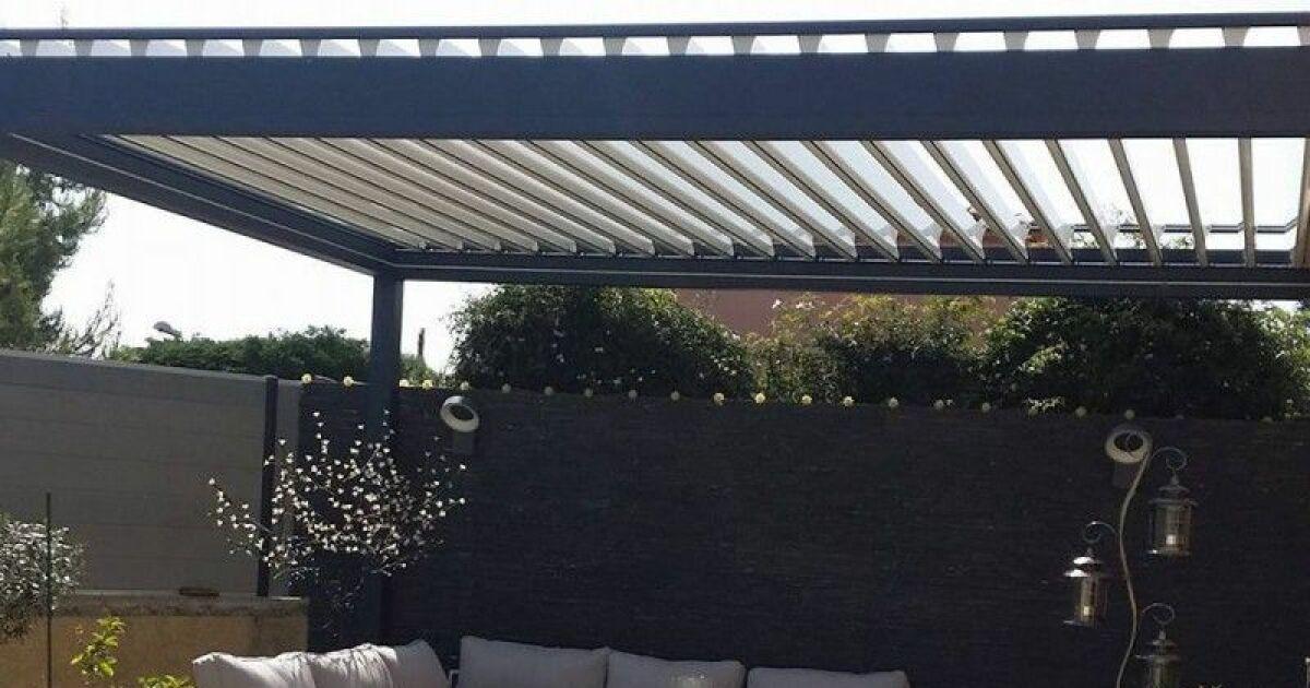 profiter de son jardin toute l ann e avec une pergola alsol. Black Bedroom Furniture Sets. Home Design Ideas