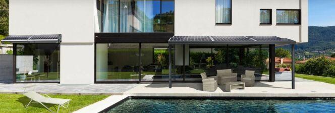 Une pergola photovoltaïque avec IRFTS
