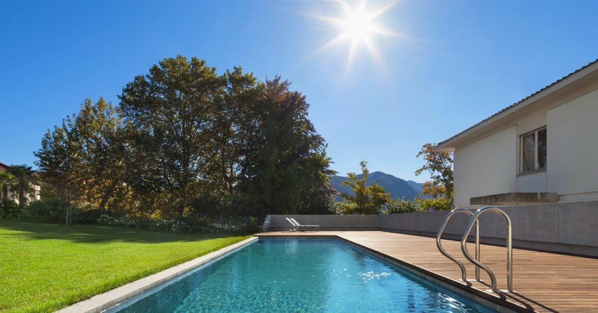 Les piscines double profondeur for Guide construction piscine