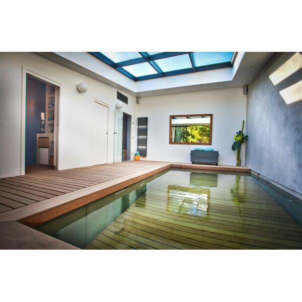 Une piscine fond mobile en banlieue parisienne for Piscine parisienne
