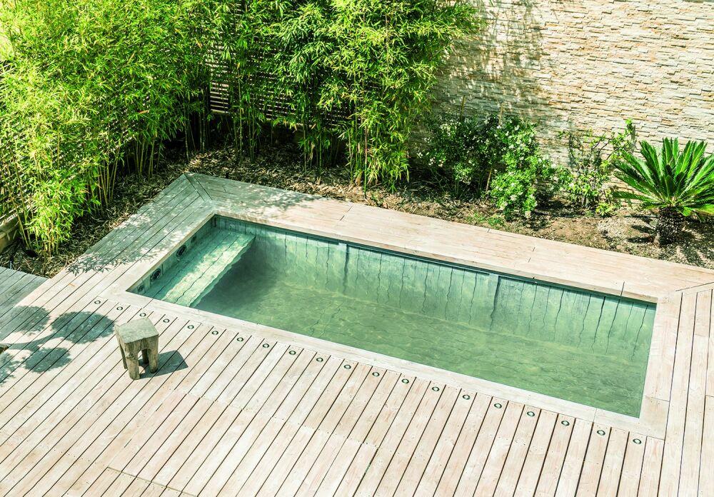 Une piscine à la filtration écologique© Biopooltech