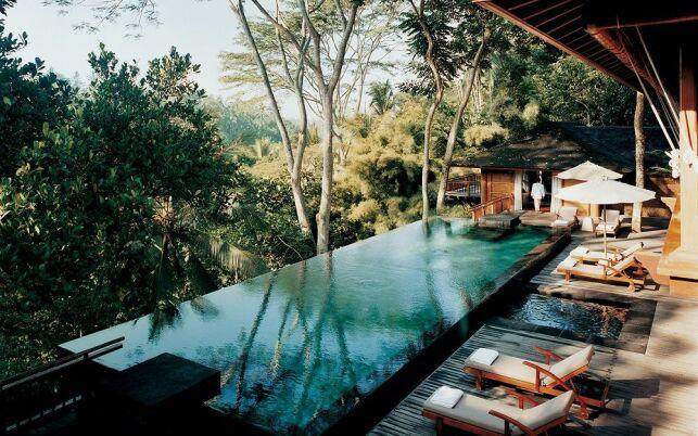 Une piscine au Como Shambhala Estate à Bali