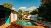 Zoom sur les piscine bois Bluewood