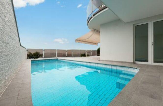 Une piscine chauffée au gaz naturel