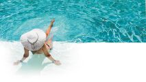 Une piscine éclatante avec Bayrol