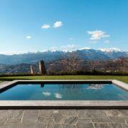 La piscine en bois rectangle, la forme classique