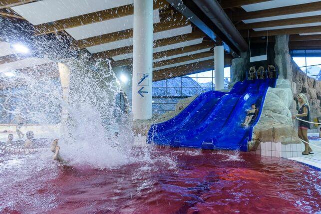 Une piscine ensanglantée à Tignes