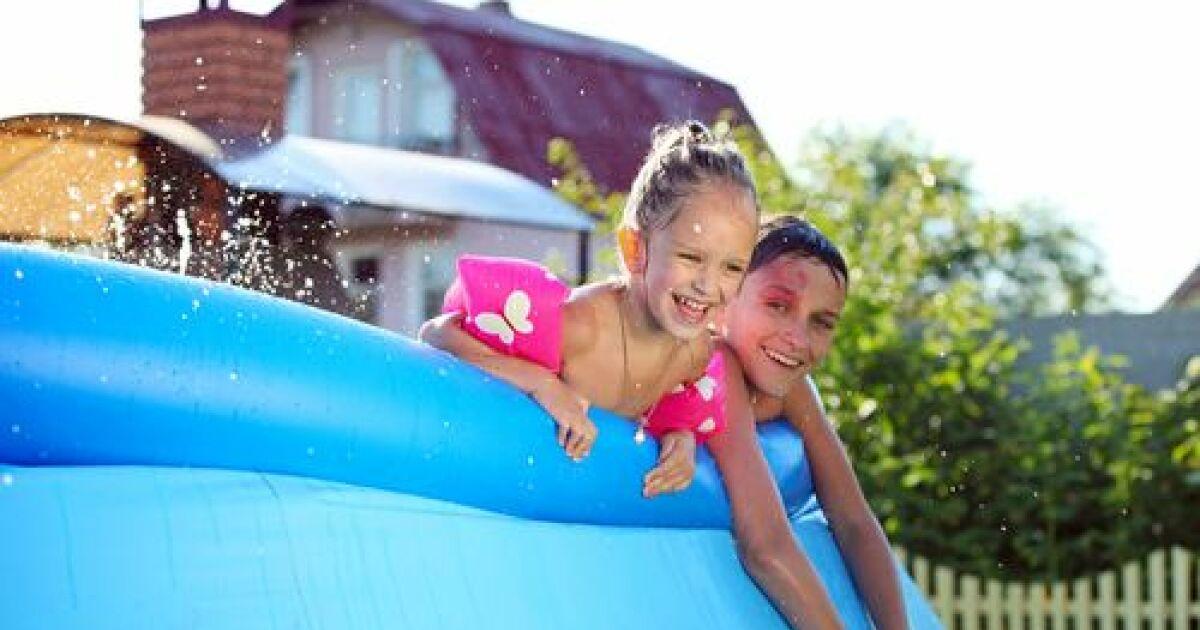 Dossier une piscine gonflable dans votre jardin for Apprendre a plonger dans une piscine