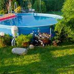 Une piscine hors-sol dans votre jardin