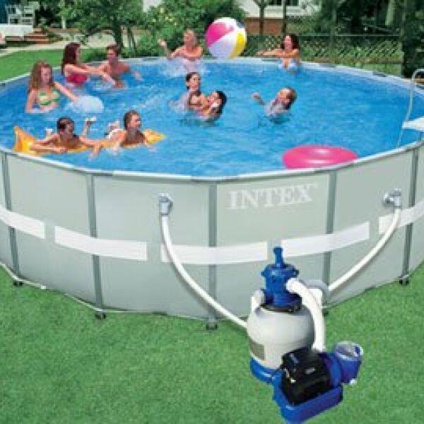 Une piscine intex hors sol dans votre jardin for Piscine dans sol
