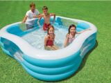 Une piscine Intex rectangulaire : un format optimal