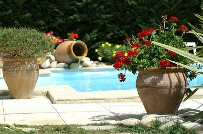 Une piscine privée en Alsace