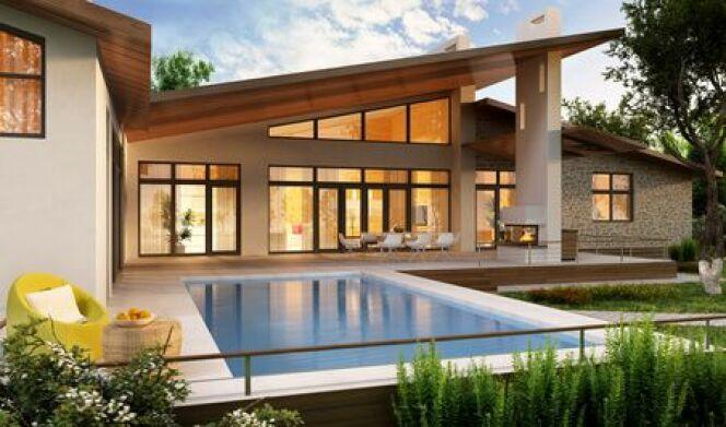 """Une piscine privée en Picardie vous permettra de profiter du climat de cette belle région.<span class=""""normal italic petit"""">© slavun - Fotolia.com</span>"""