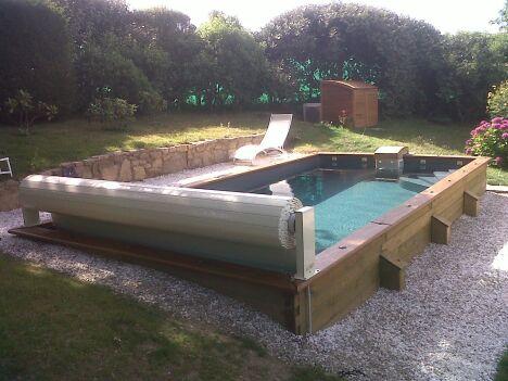 une piscine semi enterr e pas cher faites des conomies en installant votre piscine chez vous. Black Bedroom Furniture Sets. Home Design Ideas