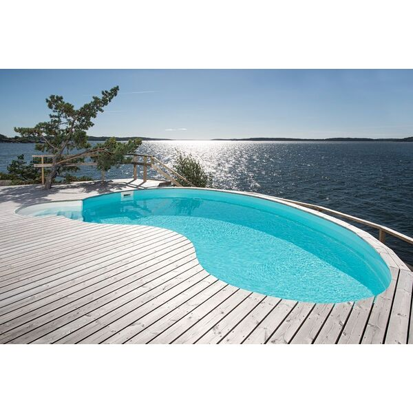 Une piscine waterair prix r duit for Piscine haricot prix