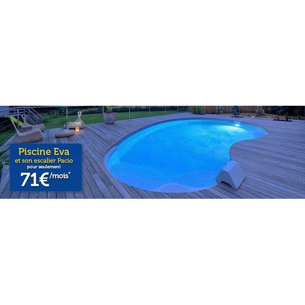 Une piscine waterair dans le tra neau for Piscine waterair