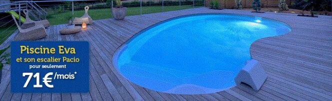 """Une piscine Waterair dans le traîneau !<span class=""""normal italic petit"""">DR</span>"""