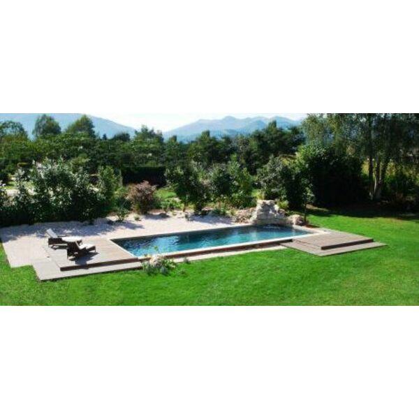 Une pelouse autour de la piscine semer da gazon autour for Piscine artificielle