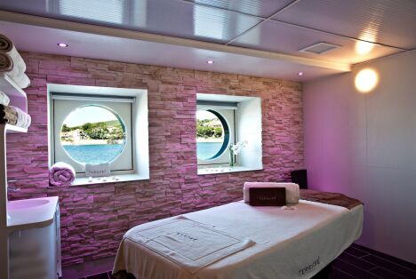 """Une salle de soins à la Thalasso Thalazur de Bandol.<span class=""""normal italic petit"""">DR</span>"""
