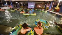 Une séance de « cinéma-piscine » à Rouen