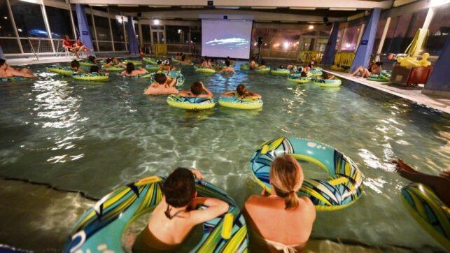 Une séance de cinéma à la piscine de Rouen