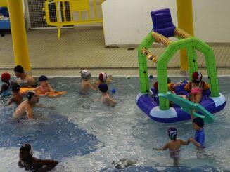 Une activité à la piscine de l'Arche Guédon à Torcy