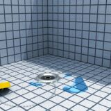 Une fuite dans le liner de piscine