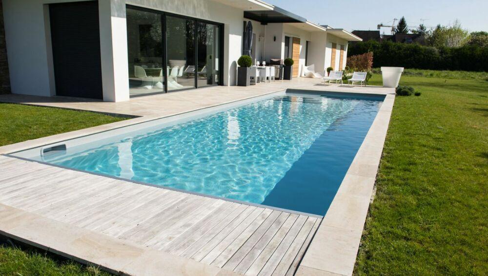 Unibéo, les piscines kit en béton © Unibéo