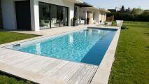 Zoom sur Unibéo, les piscines kit en béton